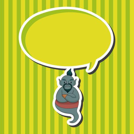 jinn: Elementos del tema de Aladdin Genie