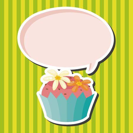 decorating: decorating cake theme elements