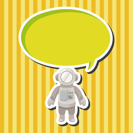 spaceman: spaceman theme elements vector,eps