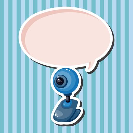 webcam: webcam theme elements