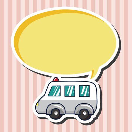 ambulancia: Elementos del tema de la ambulancia del transporte
