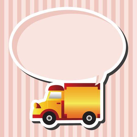 테마: truck theme elements