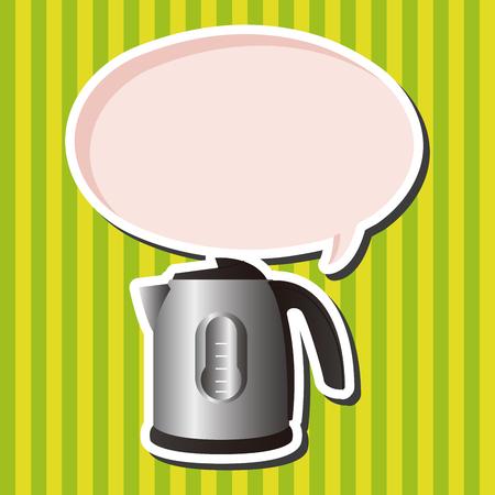 boil: Home appliances theme electric flask elements