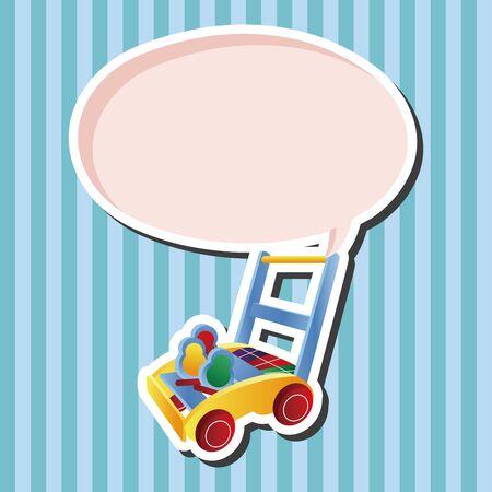 walker: Baby walker theme elements