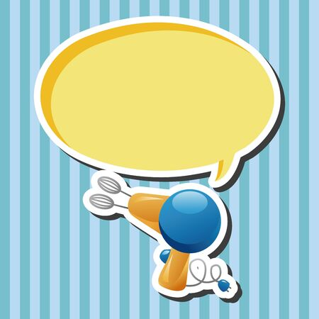 eggbeater: kitchenware beater theme elements