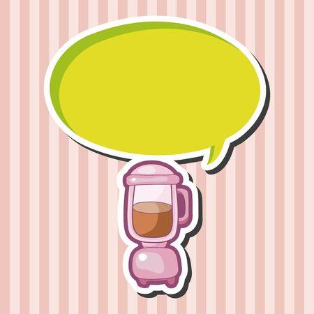 juicer: kitchenware juicer theme elements Illustration