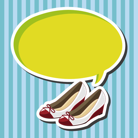 shoelaces: High-heeled shoes style theme elements