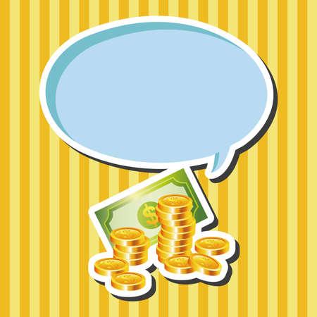 hundred dollar bill: Financial money cash theme elements