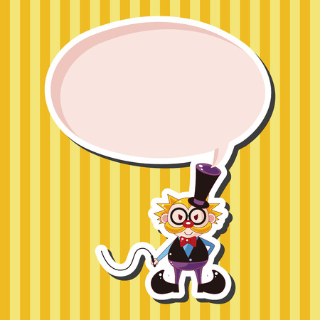 trainer: circus animal trainer theme elements