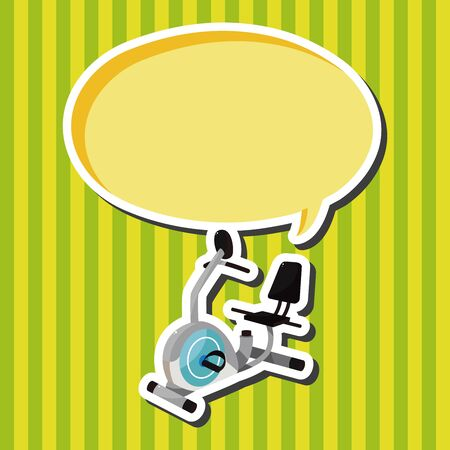 fitness equipment: Fitness Equipment theme elements