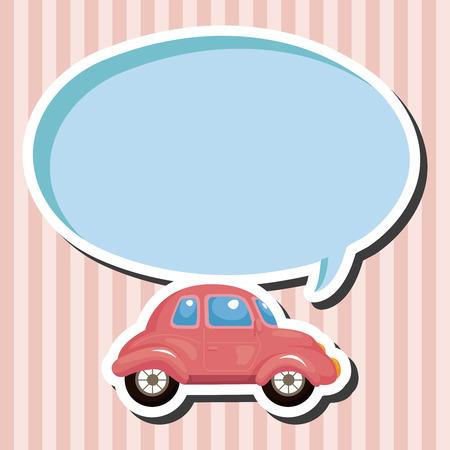 테마: transportation car theme elements 일러스트