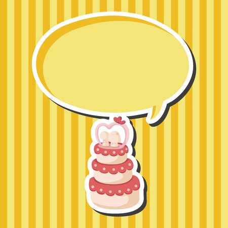 wedding cake: wedding cake theme elements