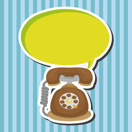 telephone: telephone theme elements