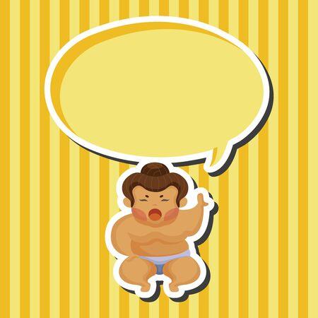 japanese culture: Sumo theme elements