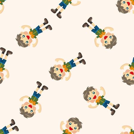 seamless pattern: scout ,seamless pattern
