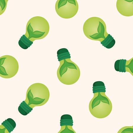 saving energy: Environmental protection concept ; Saving energy, ,seamless pattern