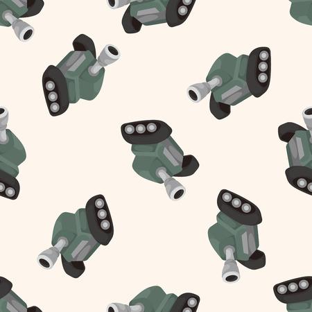 cannon ball: cannon ,seamless pattern Illustration