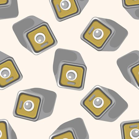 safety deposit box: Safety Deposit Box ,seamless pattern Illustration
