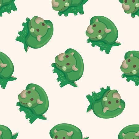 seamless pattern: dinosaur cartoon ,seamless pattern