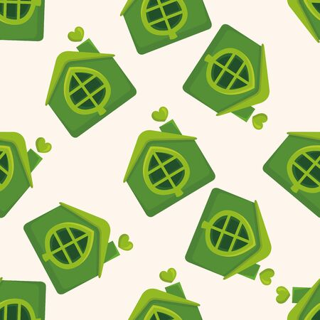gr: Environmental protection concept ; greenhouses; gr,seamless pattern