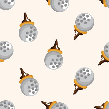 golf equipment: golf equipment ,seamless pattern