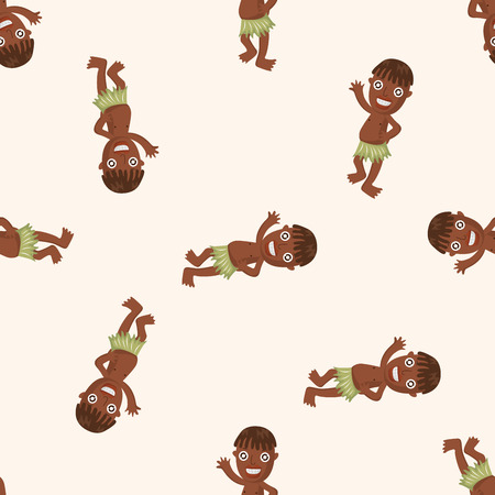 aborigines: Aborigines ,seamless pattern