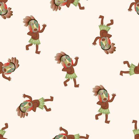 aborigine: Aborigines ,seamless pattern