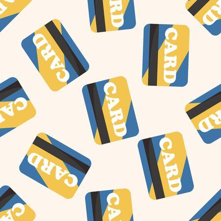 creditcard: credit card ,seamless pattern