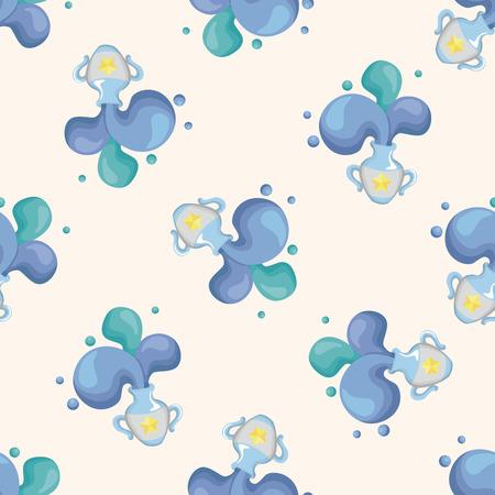 abstract aquarius: Constellation Aquarius ,seamless pattern