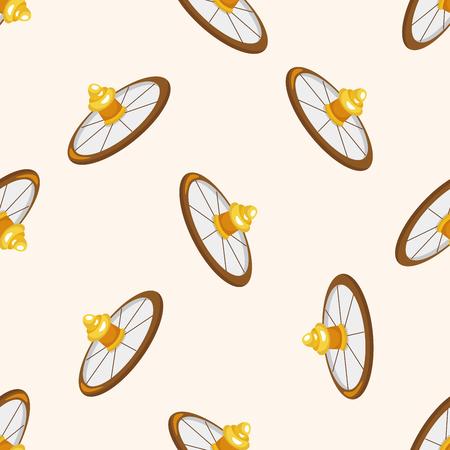 wheel of fortune: casino roulette ,seamless pattern Illustration