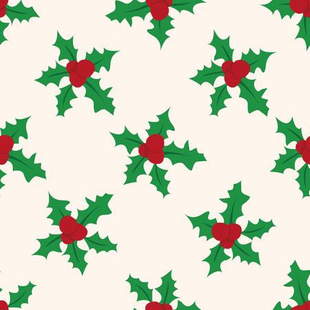 pine wreaths: Christmas wreath icon 10,seamless pattern Illustration