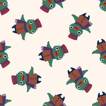 bird icon: winter animal bird icon 10,seamless pattern