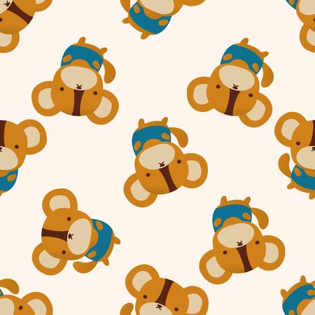 animal icon: Animal icon, 10,seamless pattern