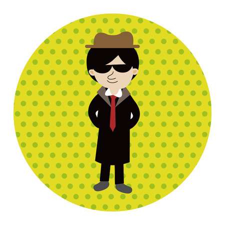 mafioso: mafia theme elements vector,eps