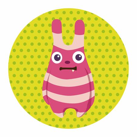 monster face: monster cartoon theme elements vecotr,eps