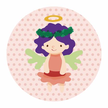 angel: angel cartoon design elements vector