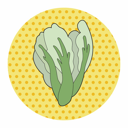 convolvulus: vegetable theme water convolvulus elements vector,eps Illustration