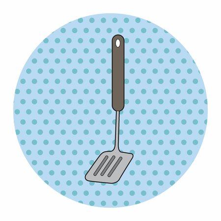 spatula: kitchenware spatula theme elements vector,eps Illustration