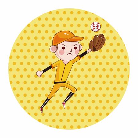 hit man: baseball player theme elements