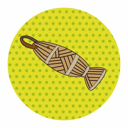 angling rod: fishing bait equipment theme elements vector,eps