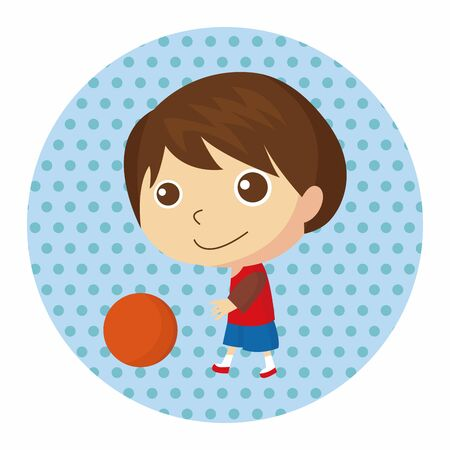 jump shot: basketball player theme elements