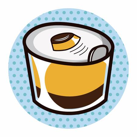 jelly: jelly dessert theme element