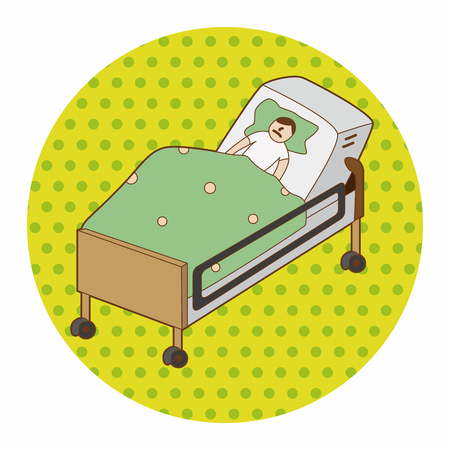Hospital Bed Cartoon Images & Stock Pictures. Royalty Free ...