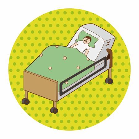 hospital patient: hospital theme patient element