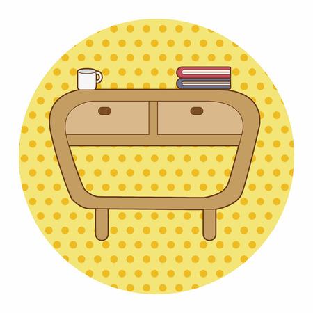 furniture: furniture theme cabinet element Illustration