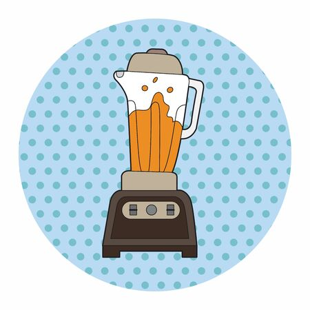 juicer: kitchenware juicer theme elements vector,eps Illustration