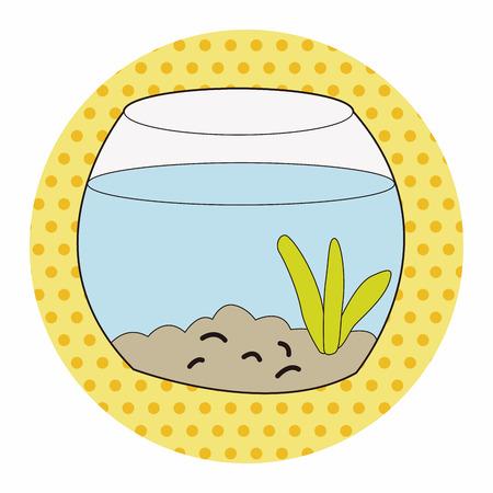 trapped: Pet goldfish bowl theme element