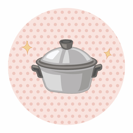 rice cooker: kitchenware rice cooker theme elements vector Illustration