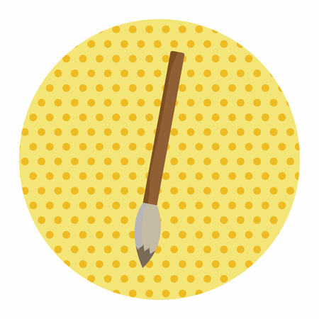work tool: work tool painting brush theme elements vector