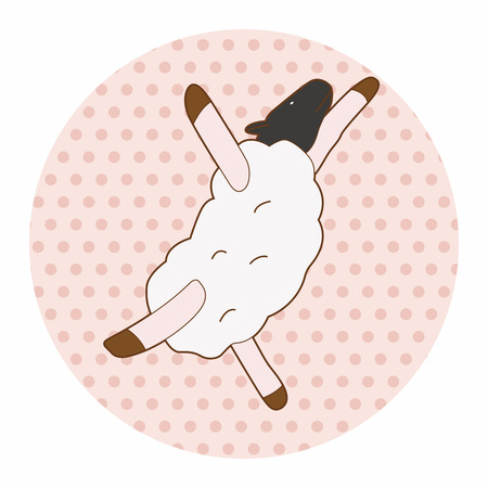 tanzen cartoon: Tier Tanz Cartoon Thema Elemente